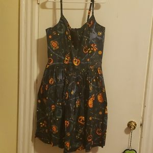Pinup Couture Jenny Dress Halloween Lantern 4x